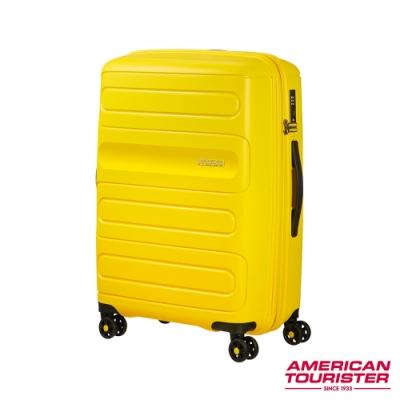 AT美國旅行者 25吋 Sunside超耐磨PP防刮可擴充硬殼TSA行李箱(四色任選)