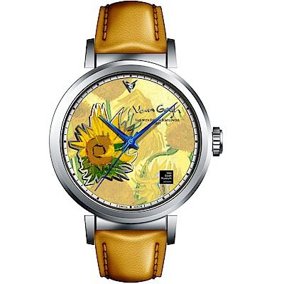 梵谷Van Gogh Swiss Watch梵谷經典名畫男錶(I-SLMV-11)
