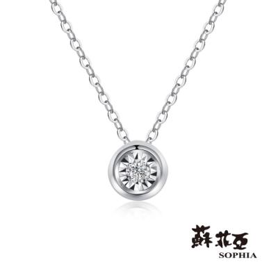 蘇菲亞 SOPHIA - 永恆之戀鑽石項鍊