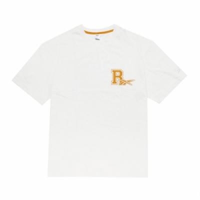 Reebok T恤 Taipei City Tee 運動休閒 男款 台灣 台北 黑熊 圓領 基本板型 穿搭 白 黃 H25004