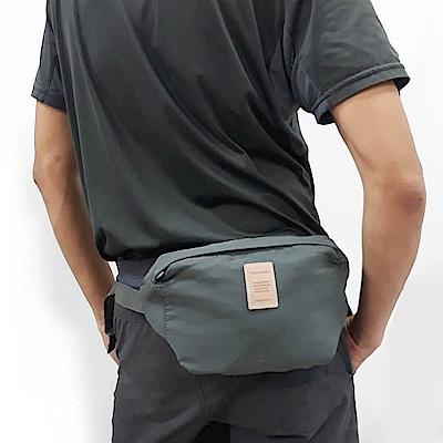E.City_買大包送小包-旅行多功能防潑水防盜貼身胸包腰包