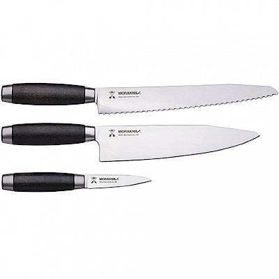 MORAKNIV KNIFE SET CLASSIC 1891 廚刀三件組 黑 12423