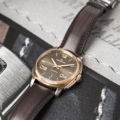 Anonimo EPURATO義式經典機械錶(AM400004441W88)42mm