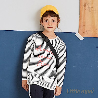 Little moni 條紋長上衣(兩色可選)
