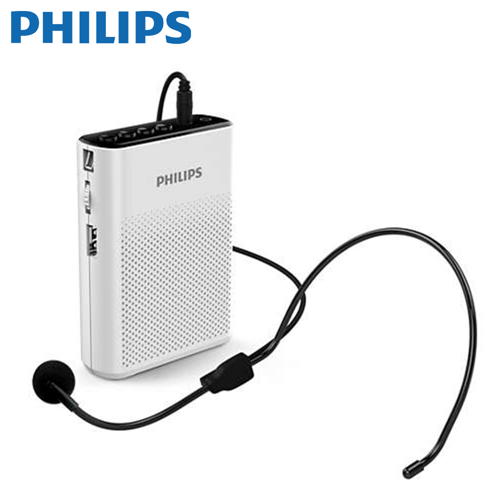 【Philips 飛利浦】攜帶式插卡擴音機 SBM200/93