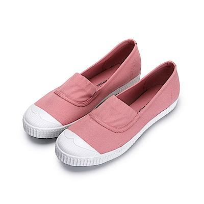 BuyGlasses 少女情懷鬆緊休閒鞋-粉
