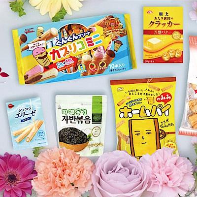 日韓熱門零食 全館任選83折起!