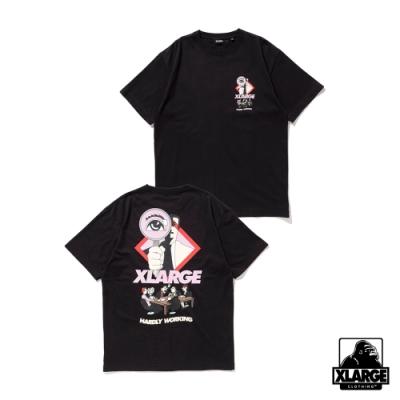 XLARGE S/S TEE CONVERSATION短袖T恤-黑