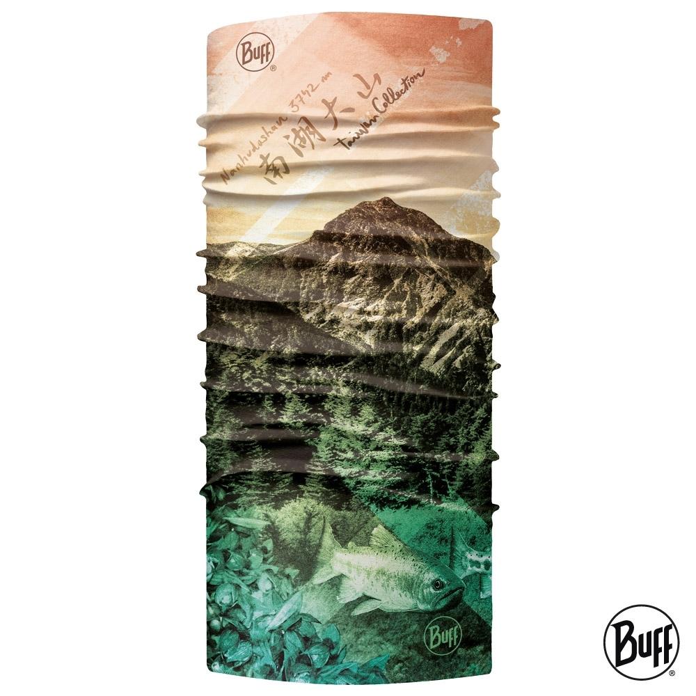 【西班牙BUFF】Coolnet抗UV頭巾-台灣系列-南湖大山