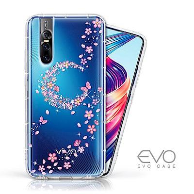 EVO CASE vivo V15 Pro 奧地利水鑽殼 - 櫻月