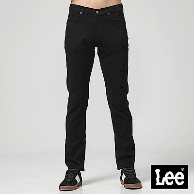 Lee 中腰舒適小直筒牛仔褲/RG黑色