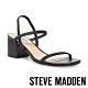 STEVE MADDEN-INESSA 氣質交叉細帶粗跟涼拖鞋-黑色 product thumbnail 1