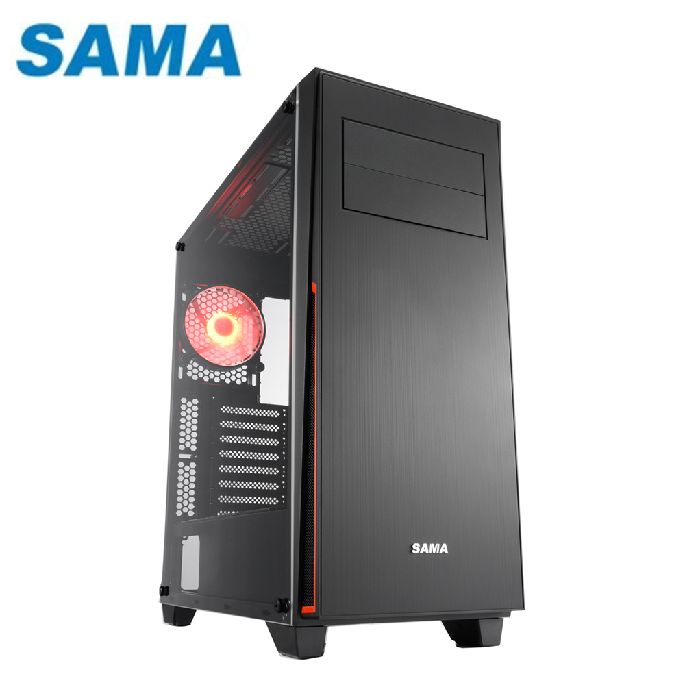 SAMA 先馬 SAGL002(B) 帝國戰士 ATX 透側 電腦機殼