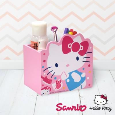 Hello Kitty 凱蒂貓 造型小物收納盒 桌上收納 文具盒收納 筆筒