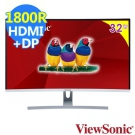 ViewSonic VX3217-2KC-mhd 32型WQHD曲面螢幕