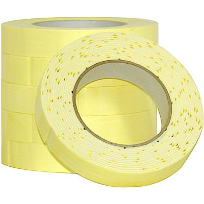 超強黏度 泡棉雙面膠帶 24mm x 5Y(4.5M) 6入