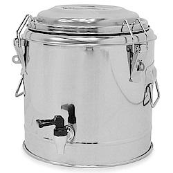304不鏽鋼10公升茶水桶 10L冰桶 開水桶 保溫茶桶-(快)