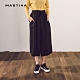 【MASTINA】舒適感綁帶寬版-褲裙(二色) product thumbnail 1