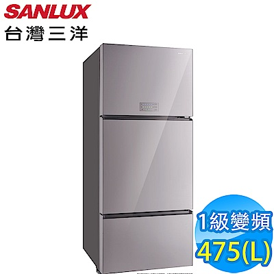 SANLUX台灣三洋 475L 1級變頻3門電冰箱 SR-C475CVGA