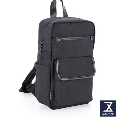 74盎司 Tidy簡約素色胸包[G-1063-TI-M]黑
