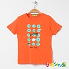 bossini男童-印花短袖T恤18芒果黃