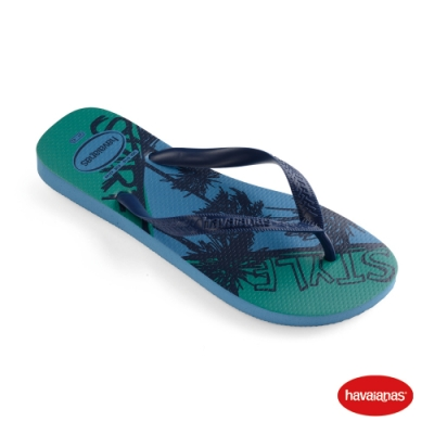 Havaianas 哈瓦仕 拖鞋 夾腳拖 人字拖 巴西 男鞋 藍/鐵灰 4141348-0057M Top Athletic 衝浪