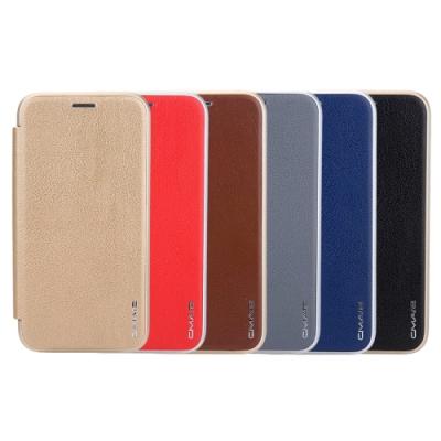 Apple iPhone 12 mini (5.4吋) 凌瓏極簡系列皮套 頂級皮紋質感 隱形磁扣支架式皮套 矽膠軟殼 多色可選
