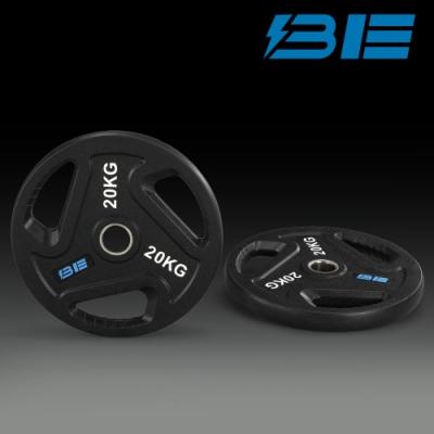 【BH】BE-O20-20KG奧林匹克包膠槓片-二入組