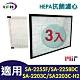 LFH HEPA抗菌濾心 適用:尚朋堂 SA-2203C/2255F/2258DC/H360 product thumbnail 1