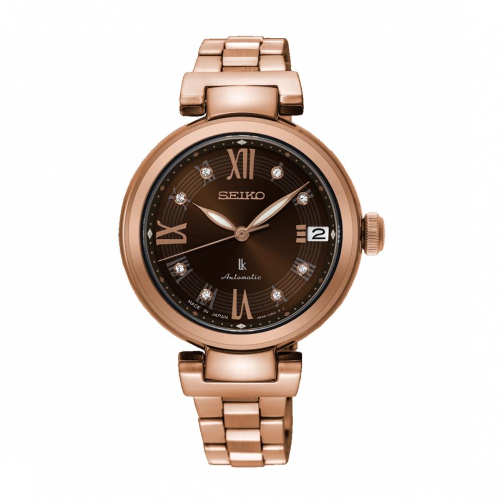SEIKO LUKIA跳動優雅廣告款機械腕錶SRP844J1/4R35-02Y0B