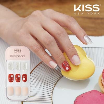 KISS New York-Press&Go頂級光療指甲貼片(完美嬌點 KPNA37KA)