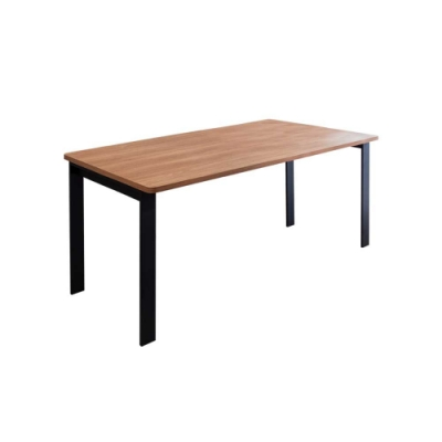 Birdie-工業風5.3尺鋁合金長桌/餐桌/會議桌/工作桌-T1型160×80cm-160x80x74cm