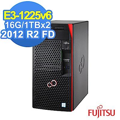 (無卡分期-12期) FUJITSU TX1310 M3 E3-1225v6/16G/1T