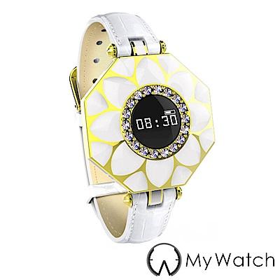 My Watch 璀璨女士健康管家藍牙智慧手環Line提醒/心率-MY13