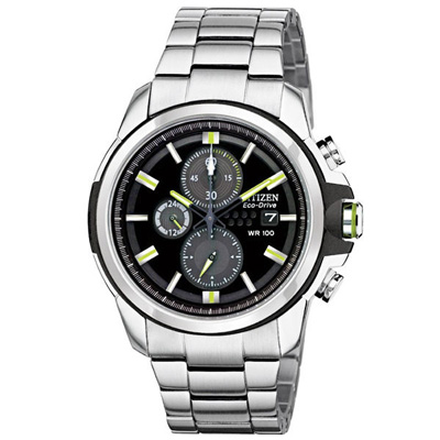 CITIZEN 光動能戰役行動計時男錶(CA0428-56E)-銀x黑/43mm