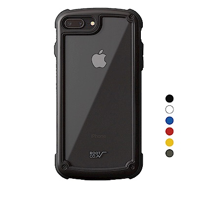 日本ROOT CO. iPhone 7/8 Plus透明背板手機殼