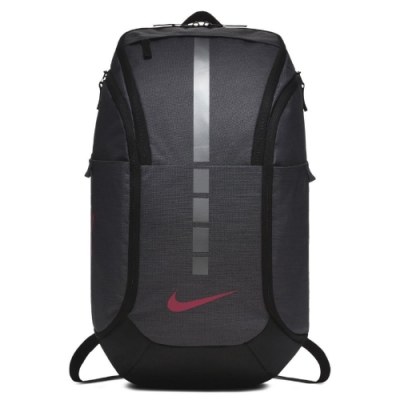 Nike 後背包 Hoops Elite Pro BP 男女款 運動 籃球 菁英 大容量 雙肩背 灰 粉 BA5554021