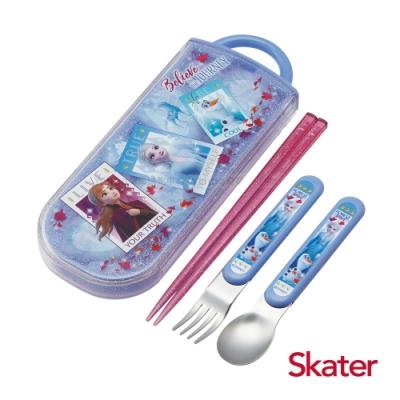 Skater三件式餐具組-冰雪奇緣Movie