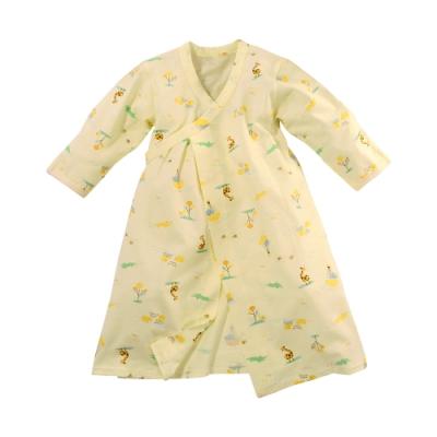 台灣製薄款純棉嬰兒長睡袍 b0288 魔法Baby