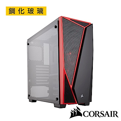 CORSAIR海盜船 Carbide Series?SPEC-04 Glass 鋼化玻璃
