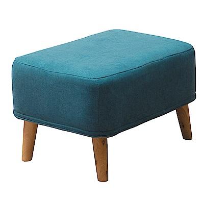 文創集 凱利時尚亞麻紋椅凳(三色可選)-62x42x37免組