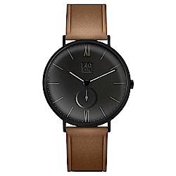 ZOOM HALO 砂漠光暈腕錶 - 鴉黑 / 43mm