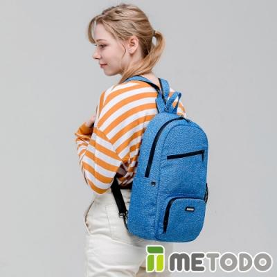 【METODO防盜包】ST 2-in-1 Bag L不怕割後背包/斜背包TSL-805皇家藍/耐磨防潑水/旅遊包/休閒包