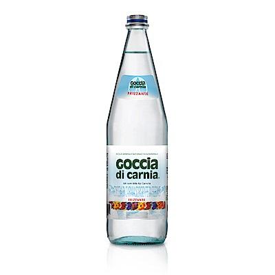 義大利Goccia di Carnia 高地卡尼天然氣泡礦泉水(1000mlx12入)