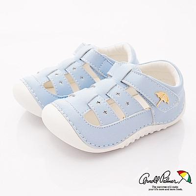 雨傘牌 護趾軟軟學步鞋款 EI93250淺藍(寶寶段)