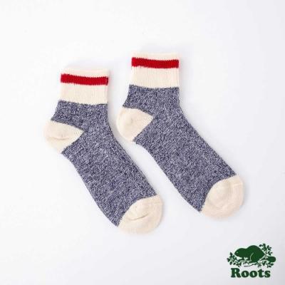 Roots配件- 經典CABIN踝襪-藍色