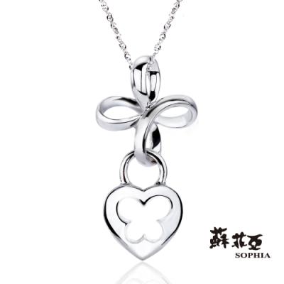 蘇菲亞SOPHIA - 纏繞925純銀項鍊