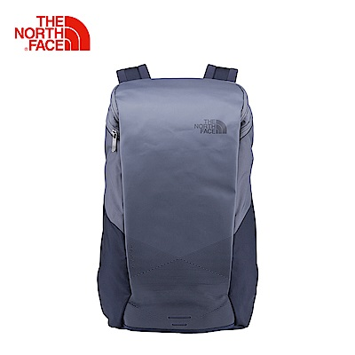 The North Face北面藍色舒適休閒雙肩後背包