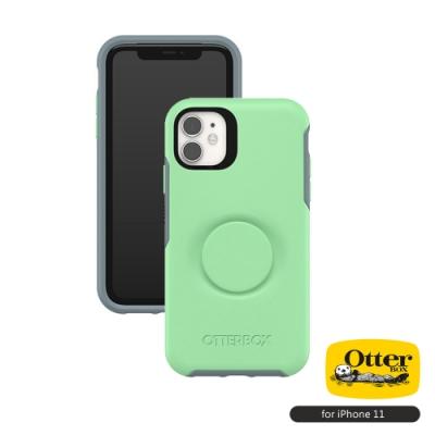 OtterBox Otter+Pop iPhone 11(6.1吋)專用 防摔吸震保護殼-Symmetry炫彩幾何泡泡騷系列■薄荷綠