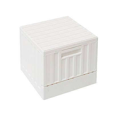 Home Feeling 方型貨櫃椅/收納椅/收納箱/玩具收納-6入組(2色)